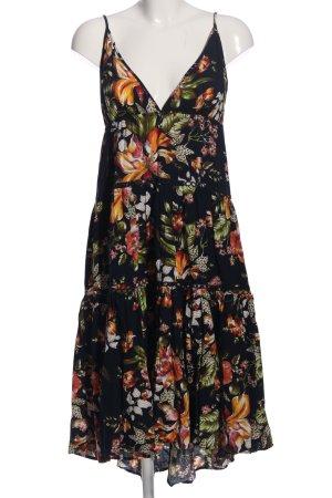 Debby Debo Pinafore dress flower pattern casual look