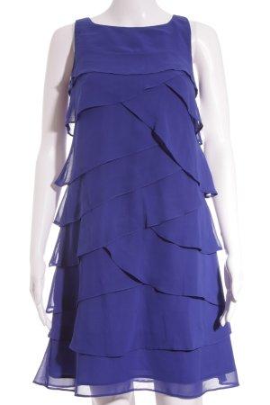 Debenhams Volantkleid blau Elegant
