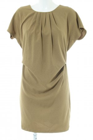 Deby Debo Kurzarmkleid khaki Business-Look