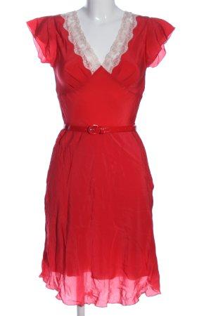 Deby Debo Minikleid rot-weiß extravaganter Stil