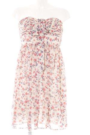 Deby Debo schulterfreies Kleid Blumenmuster Elegant