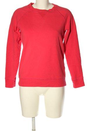 Decathlon Maglione girocollo rosso stile casual