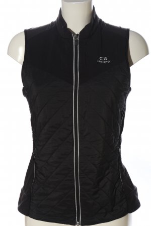 Decathlon Sports Vests black quilting pattern casual look