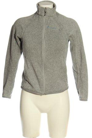 Decathlon Giacca in maglia grigio chiaro stile casual