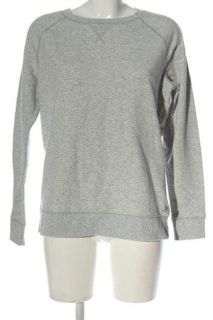 Decathlon Felpa grigio chiaro puntinato stile casual