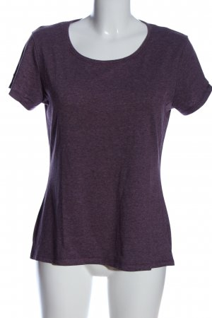 Decathlon T-Shirt lila Casual-Look