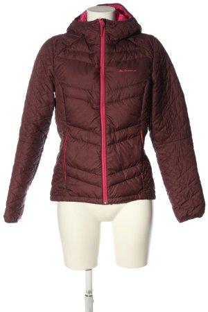Decathlon Between-Seasons Jacket red-pink quilting pattern casual look