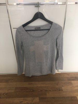 Decay Shirt grau Größe S