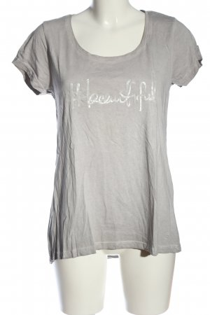decay T-Shirt hellgrau meliert Casual-Look
