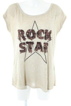 Decay Women Strickshirt Schriftzug gestickt Casual-Look