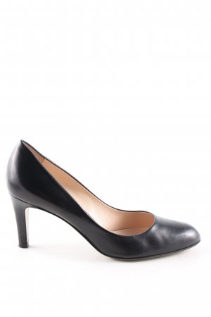 Loafers zwart zakelijke stijl