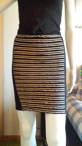 byAmna Stretch Dress black-oatmeal