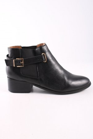Deena & Ozzy Chelsea laarzen zwart zakelijke stijl