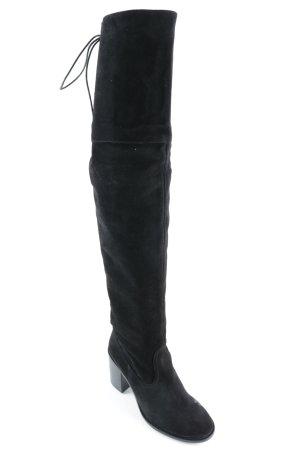 Deena & Ozzy Overknees schwarz extravaganter Stil
