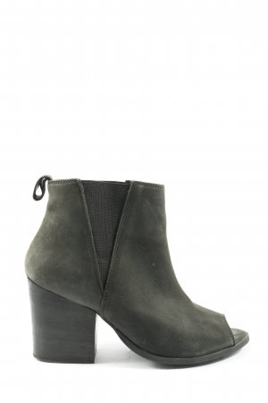 Deena & Ozzy Peep Toe Pumps light grey casual look
