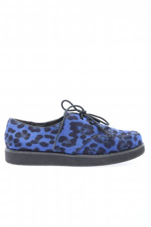 Deena & Ozzy Lace Shoes blue-black casual look