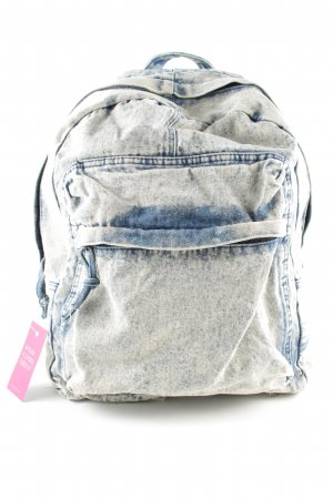 Deena & Ozzy School Backpack blue color gradient casual look