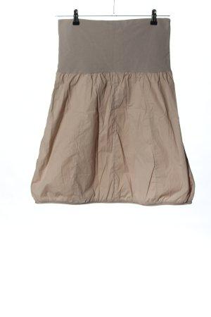 Deerberg Balloon Skirt cream-light grey mixture fibre