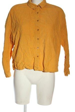 Deerberg Shirt Blouse light orange casual look