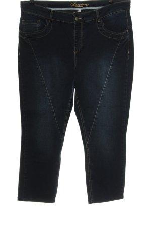 Deerberg Jeans vita bassa blu stile casual