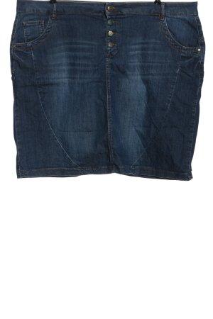 Deerberg Denim Skirt blue casual look