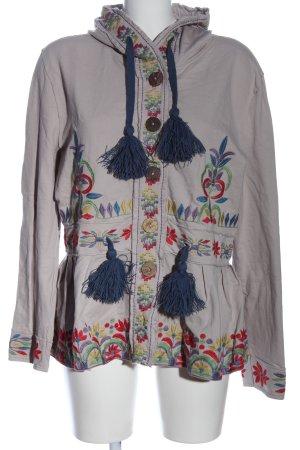 Deerberg Veste à capuche multicolore style décontracté