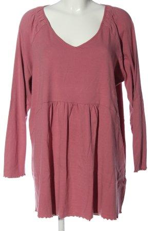 Deerberg Longsleeve Dress pink casual look