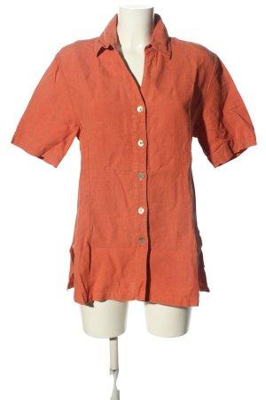 Deerberg Linen Blouse light orange casual look