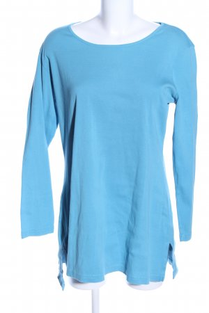 Deerberg Longsleeve blau Casual-Look