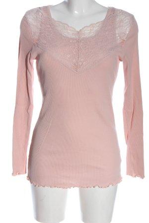 Deerberg Longsleeve pink casual look