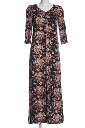 Deerberg Maxi Dress allover print casual look