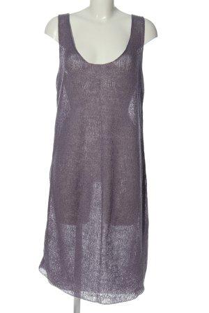 Deerberg Pulloverkleid lila Casual-Look
