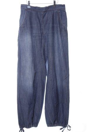 Deerberg Pantalon large bleu style décontracté