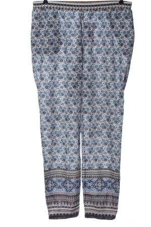 Deerberg Pantalone jersey motivo astratto elegante