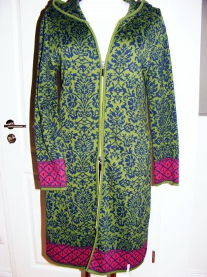 Deerberg Knitted Coat multicolored cotton