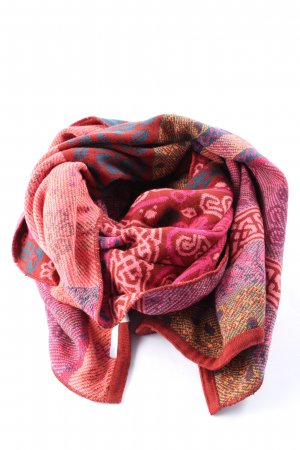 Deerberg Knitted Scarf mixed pattern casual look