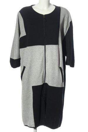 Deerberg Between-Seasons Jacket black-light grey flecked casual look