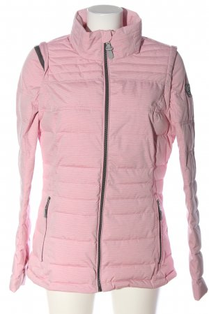 Deerberg Übergangsjacke pink Steppmuster Casual-Look