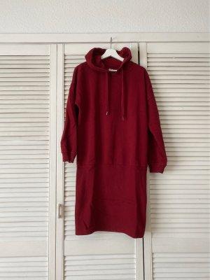 DEFClothing Robe pull bordeau