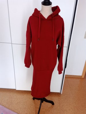 def Sukienka dresowa bordo