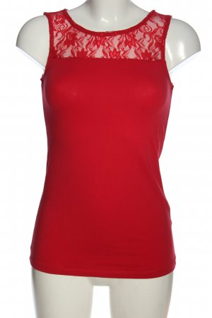 Defacto Basic Top red casual look