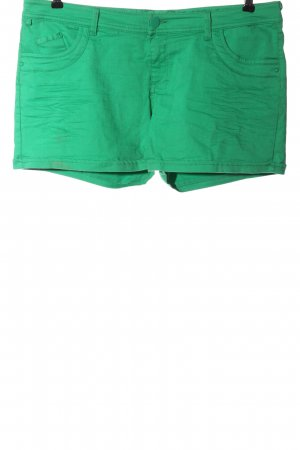 Defacto Denim Shorts green casual look