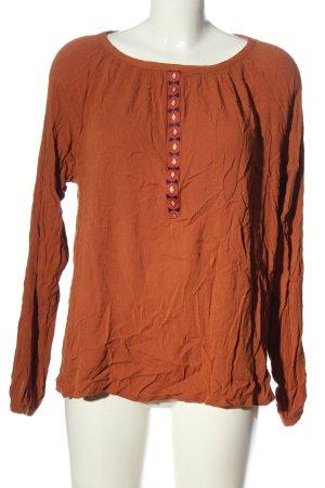 Defacto Camicetta a maniche lunghe arancione chiaro stile casual