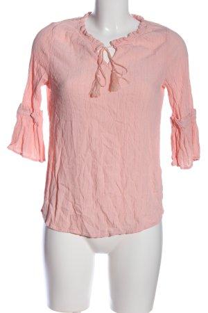 Defacto Camicetta a maniche lunghe rosa stile casual