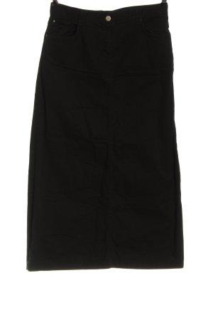 Defacto Falda midi negro look casual