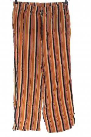 Defacto Jersey Pants striped pattern casual look