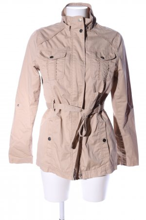 Defacto Trench Coat cream casual look