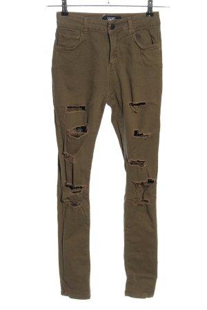 DEFClothing Pantalon kaki kaki style décontracté