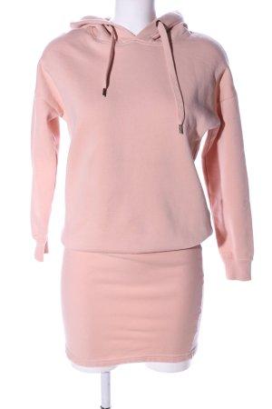DEFClothing Sweatkleid pink Casual-Look