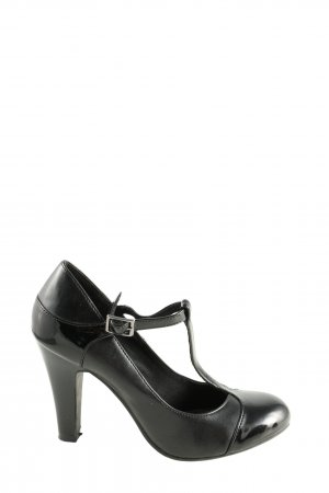 deflex comfort T-Strap Pumps black casual look